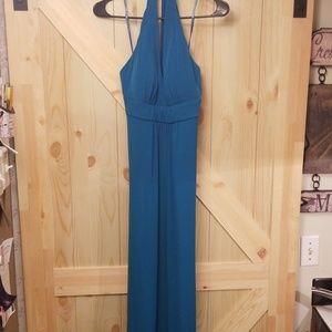 Jessica Simpson Jade Maxi Halter Dress